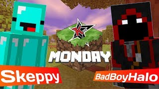 WE WON MINECRAFT MONDAY!!!! LMAOOOOOO