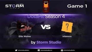 Elite Wolves vs Infamous, game 1
