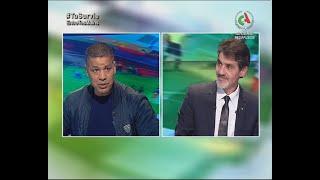 Cherif Hadjar, l'entraîneur de l'Olympique de Médéa dans C'est l'Heure du FOOT