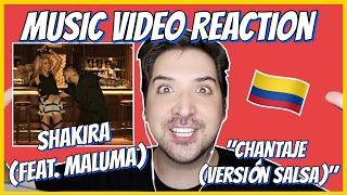 SHAKIRA (feat. MALUMA) - CHANTAJE (VERSION SALSA) - MUSIC VIDEO REACTION #19