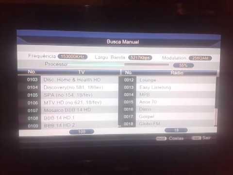 Configuração CS Showbox Net Ultra HD