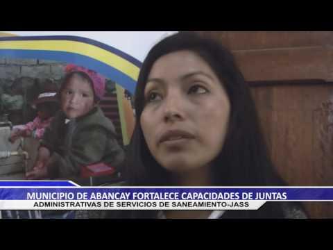 MUNICIPIO DE ABANCAY FORTALECE CAPACIDADES DE JUNTAS ADMINISTRATIVAS DE SERVICIOS DE SANEAMIENTO