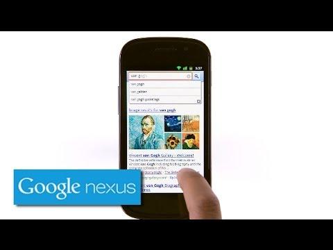 Explore Nexus S: Google Instant