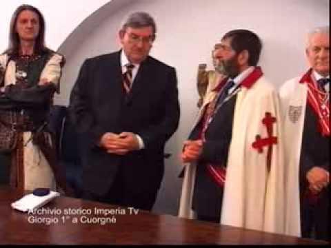 Archivio storico Imperia Tv: Giorgio primo a Cuorgne'
