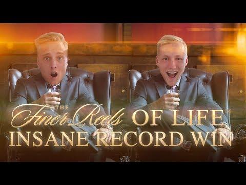 BIG WIN!!!! Finer Reels Of Life - RECORD WIN - Casino Games - (Casino Slots)