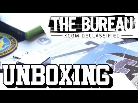 UNBOXING - THE BUREAU: XCOM Declassified - Press Kit