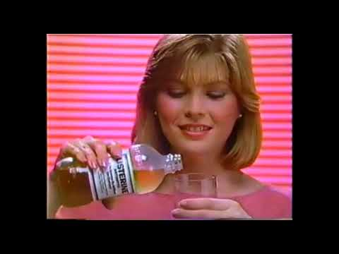 Listerine Mouthwash Commercial (1983) [Arrangement A]