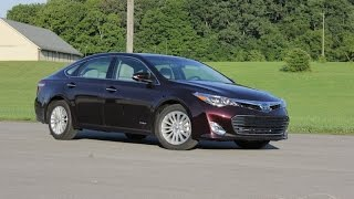 2014 Toyota Avalon Hybrid - Driven