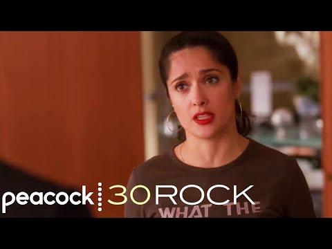 Salma Hayek as The Black Widow - 30 Rock