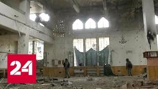 Российские саперы разминировали мечеть в Алеппо