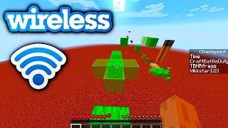 Minecraft 1.8 PARKOUR RACE - WIRELESS PARKOUR with Vikkstar, CraftBattleDuty&PrestonPlayz