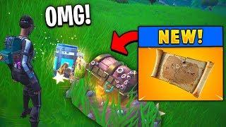 *NEW* Legendary Buried Treasure Map! (Fortnite)