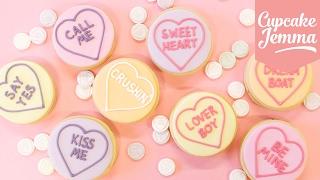 Lemon Ganache Love Heart Valentine's Cookies | Cupcake Jemma by Cupcake Jemma