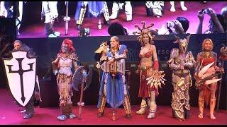 Gamescom 2014 - Blizzard costume contest part II - corpse tree special