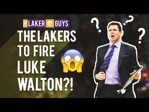 Are the Lakers Firing Luke Walton??!!