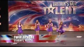 Twirlophone - Britains Got Talent 2009 Episode 3 - 25th April