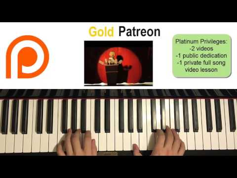 Tally Hall - The Whole World & You (Piano Cover) | Patreon Dedication #70