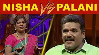 D5 Mega Dance #vijayTv #KPY nisha and Palani StandUp Comedy