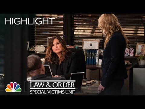 Benson Has a Big Surprise Coming - Law & Order: SVU