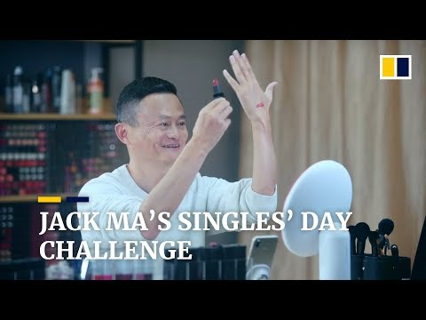Jack Ma goes head to head with employees for Alibaba's Singles' Day (11.11)