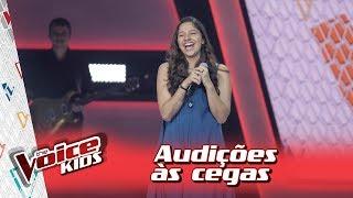 Fernanda Ouro canta 'Mercedes Benz' na Audição – 'The Voice Kids Brasil' | 3ª Temporada