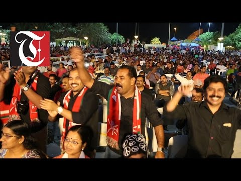 The Indian Community Festival organised by Indian Social Club's Kerala Wing breaks its own attendance record.