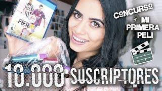 ¡CONCURSO PAULETTEE Y MI PRIMERA PELÍCULA! (ESPECIAL 10.000 SUSCRIPTORES) | Paulettee