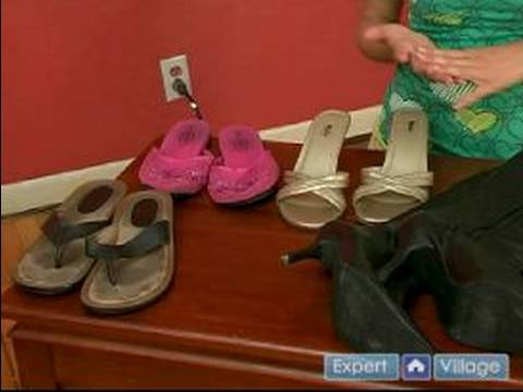 Selecting Shoes for Travel for Women