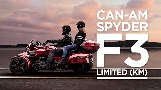 9. 2018 Can-Am Spyder F3 Limited (KM)
