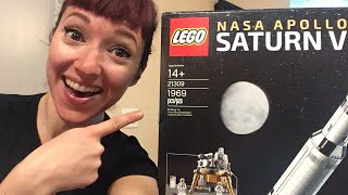 Live Saturn V Build! Part 1 by Amy Shira Teitel
