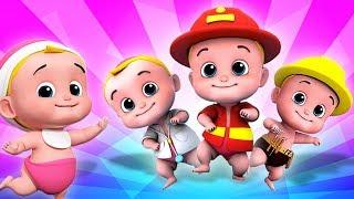 Download Video Lima Bayi Kecil | lagu untuk anak-anak | sajak anak-anak | Five Little Babies | Kids Tv Indonesia MP3 3GP MP4