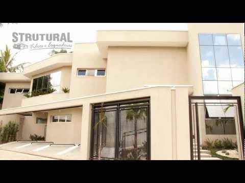 Strutural Comercial 30´´ Pele de Vidro, ACM e Fachadas