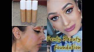 REVIEW & DEMO Fenty Beauty Pro Filt'r Foundation 300 310 & 330