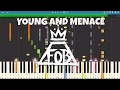 IMPOSSIBLE REMIX - Young And Menace - Fall Out Boy - Piano Cover
