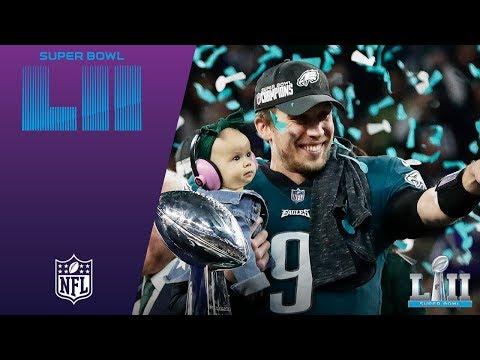 Video: Eagles Trophy Presentation & MVP Ceremony! | Eagles vs. Patriots | Super Bowl LII Postgame