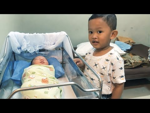 Reaksi Agha lihat adik bayi baru lahir di rumah sakit