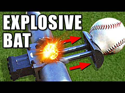 Explosive Bat in Slow Motion Ft. Stuff Made Here - Smarter Every Day 245