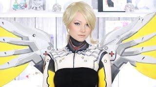 Mercy Overwatch Makeup Tutorial/Cosplay by Madeyewlook
