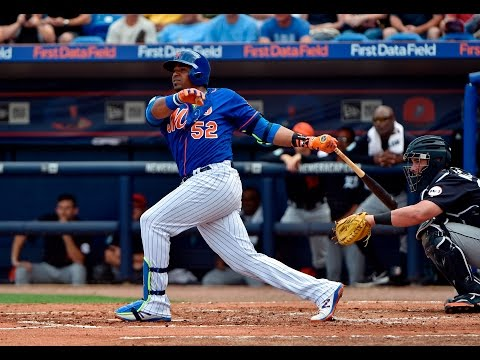 Video: Yoenis Cespedes is gunning for MVP in 2017