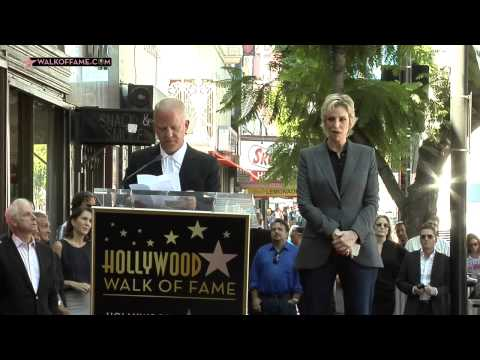 Jane Lynch Walk of Fame Ceremony