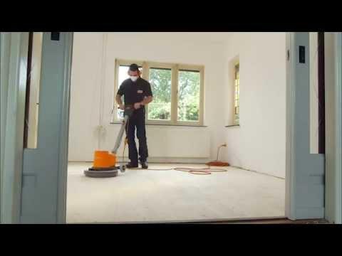 Wie funktioniert eine rotierende Bodenschleifmaschine?