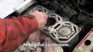 9. Replacing a Liquid Cooled snowmobile head gasket - Polaris XLT600