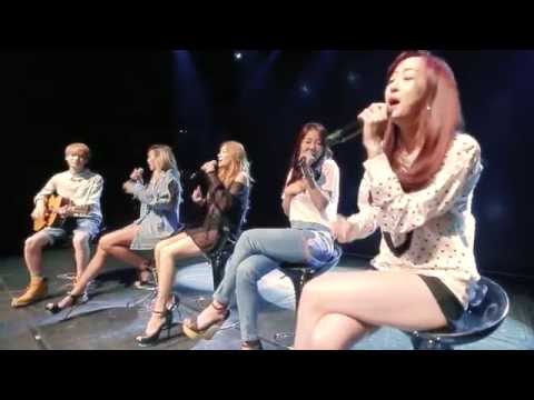 Acoustic - SISTAR(씨스타) - Touch my body(터치마이바디) Acoustic Ver. with Ahn Jung Jae(안중재) - Album Title : The 2nd Mini Album