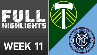 HIGHLIGHTS: Portland Timbers vs. New York City FC | May 15, 2016 by Major League Soccer