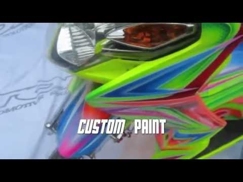Download image Design Airbrush Motor Mio Soul Graffiti PC, Android ...