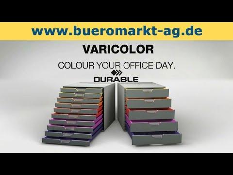 Durable Varicolor Schubladenbox A4 bunt