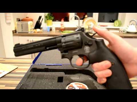 0 Сравнение пневматических револьверов Smith&Wesson 686 и 586