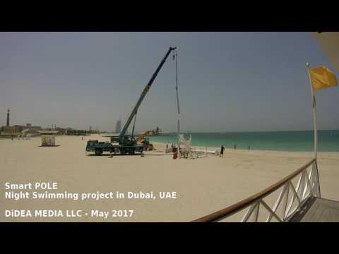 Smart Power / Wind Pole & Night Swimming in Dubai
