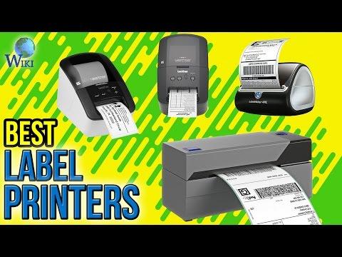 10 Best Label Printers 2017