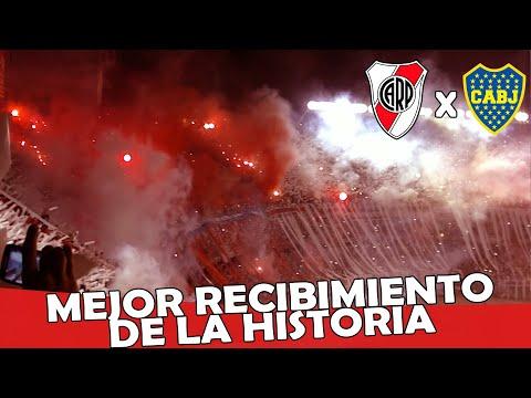 Video - MEJOR RECIBIMIENTO EN AÑOS - River Plate vs Boca Jrs -  Copa Sudamericana 2014 - Los Borrachos del Tablón - River Plate - Argentina - América del Sur